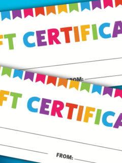 kids gift certificate thumbnail
