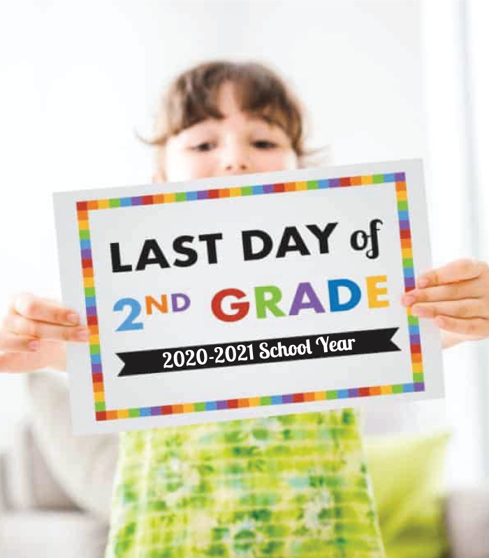 last day of school 2021 sample