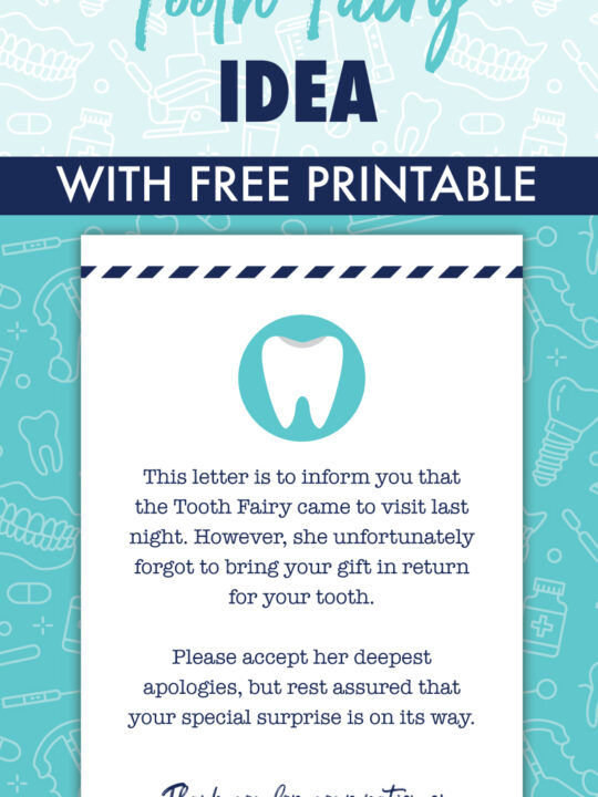 last minute tooth fairy idea