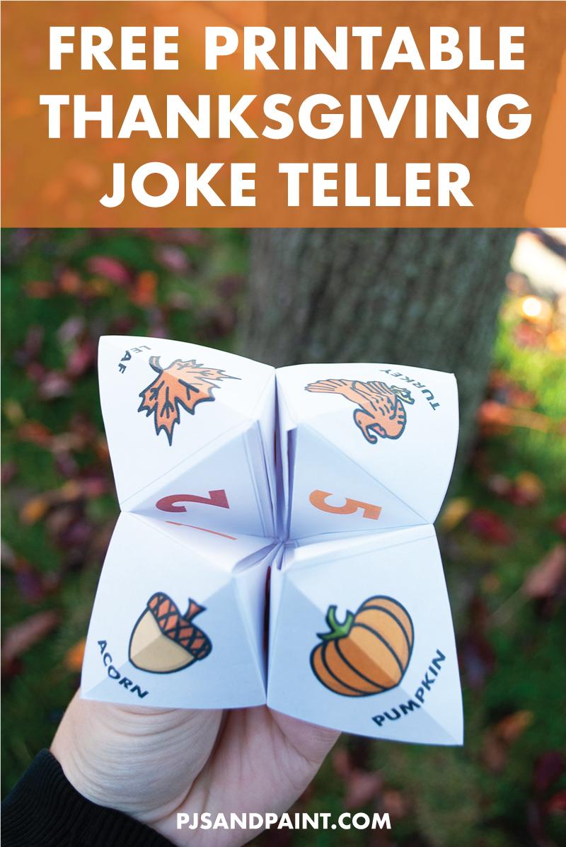 free printable thanksgiving joke teller