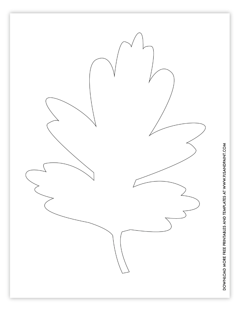 leaf template 3 large