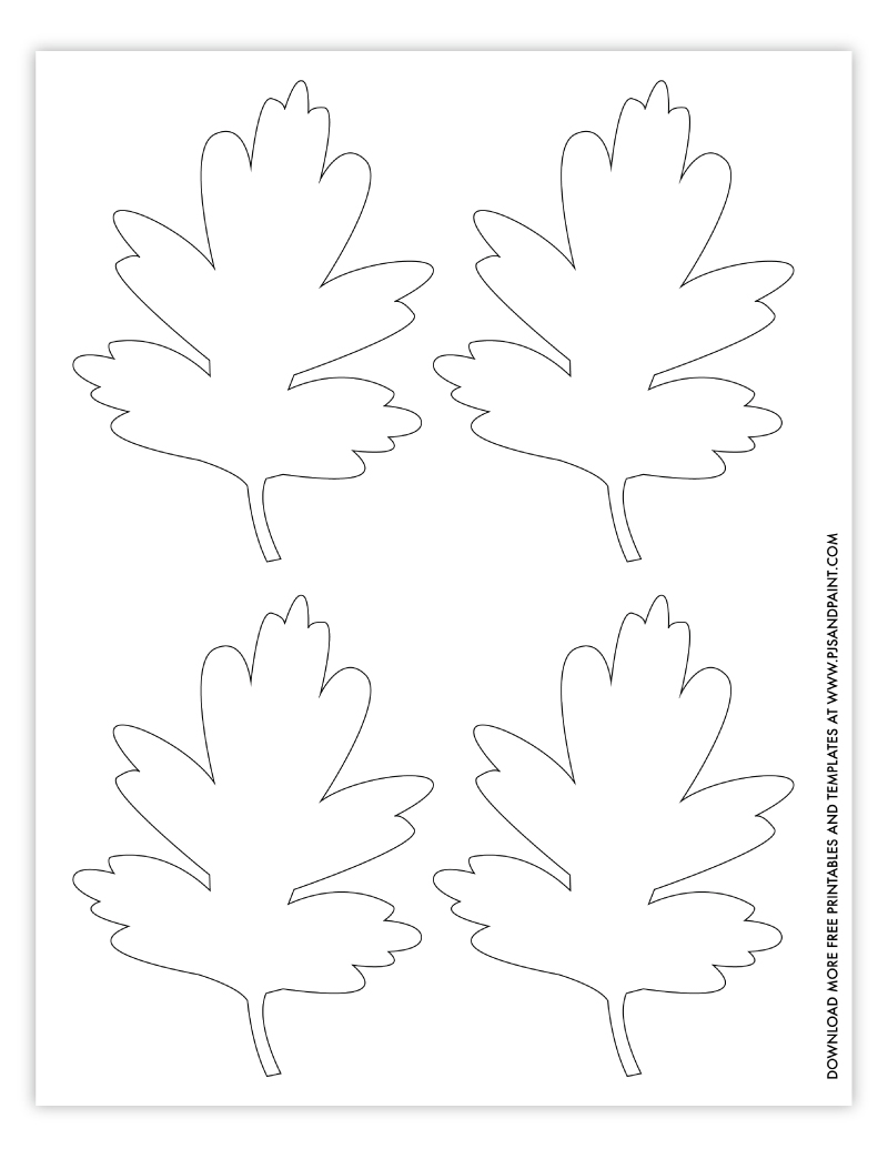 leaf template 3 small