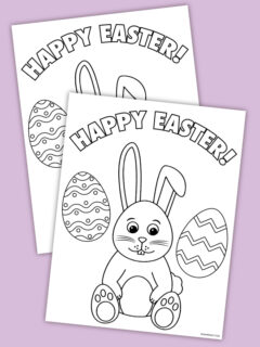 easter coloring page thumbnail