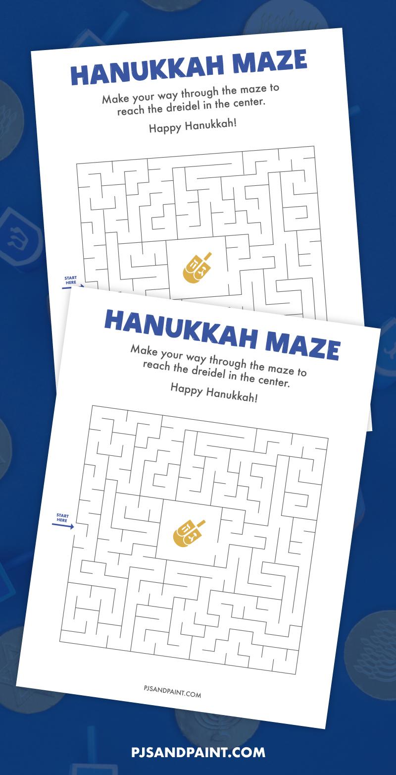 hanukkah maze 2