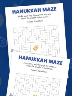 hanukkah maze thumbnail