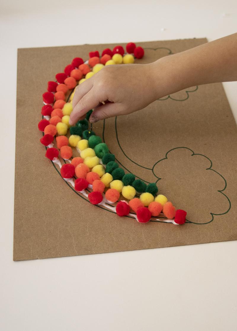 rainbow craft progress