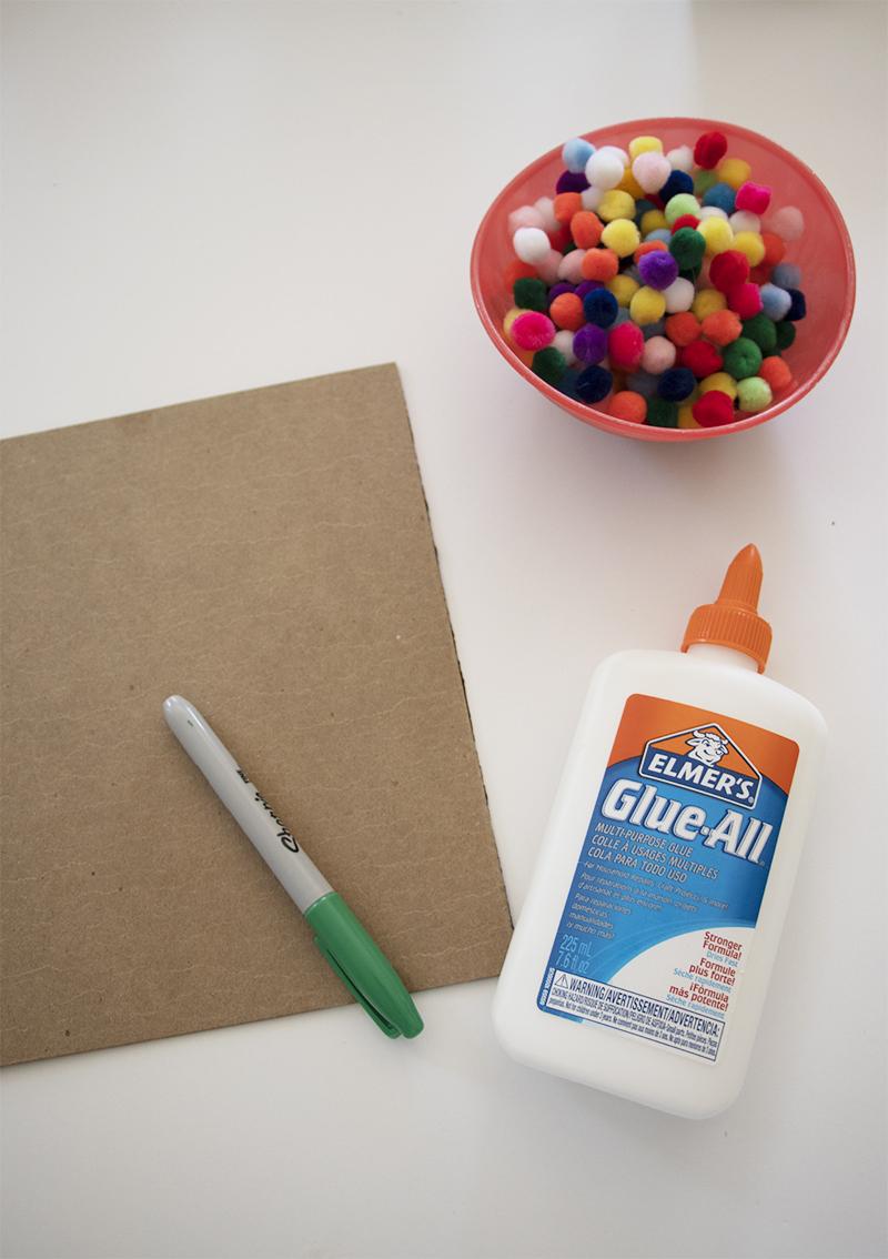 rainbow craft supplies