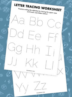 letter tracing thumbnail