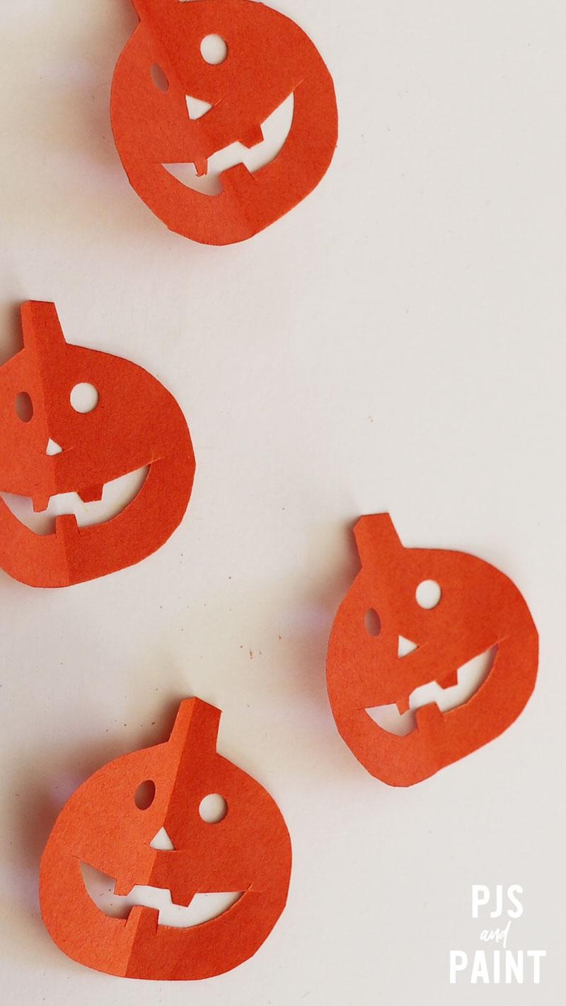 cut out pumpkin