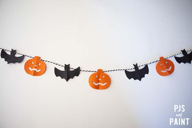 diy halloween garland