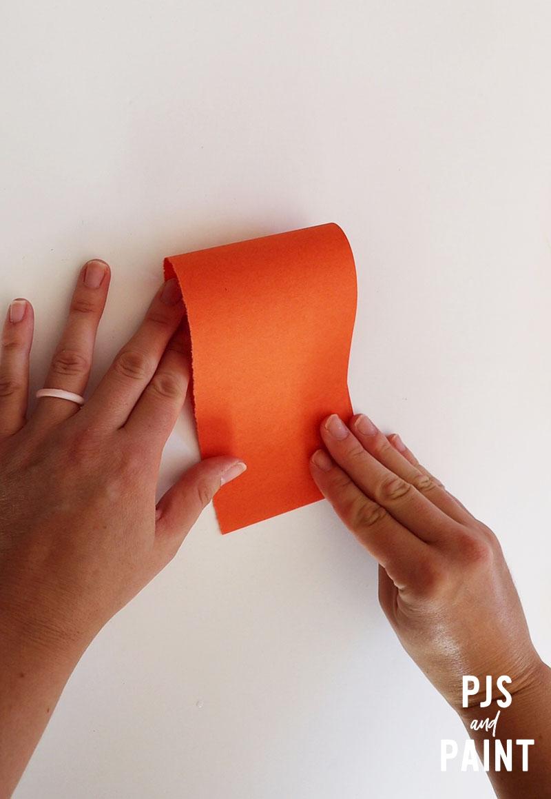 folding orange