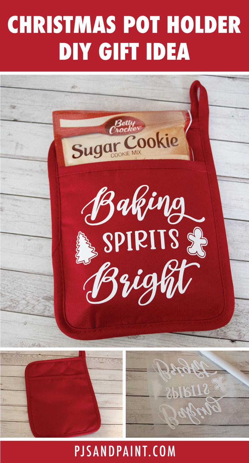 christmas pot holder gift idea